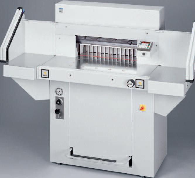 Photo of EBA 551 Guillotine - Southern Print Finishing Services Ltd