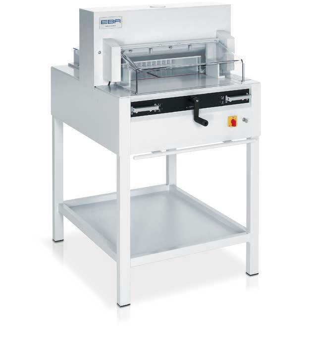 Photo of EBA 4850 Guilotine - Southern Print Finishing Services Ltd