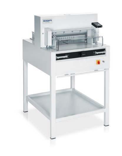 Photo of EBA 4855 Guilotine - Southern Print Finishing Services Ltd