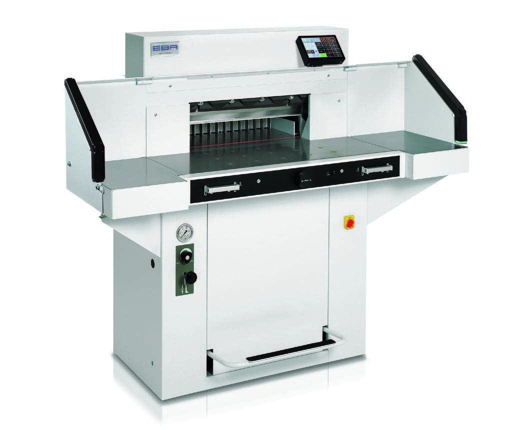 Photo of EBA 5560 Guilotine - Southern Print Finishing Services Ltd