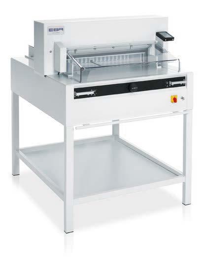 Photo of EBA 6655 Guilotine - Southern Print Finishing Services Ltd