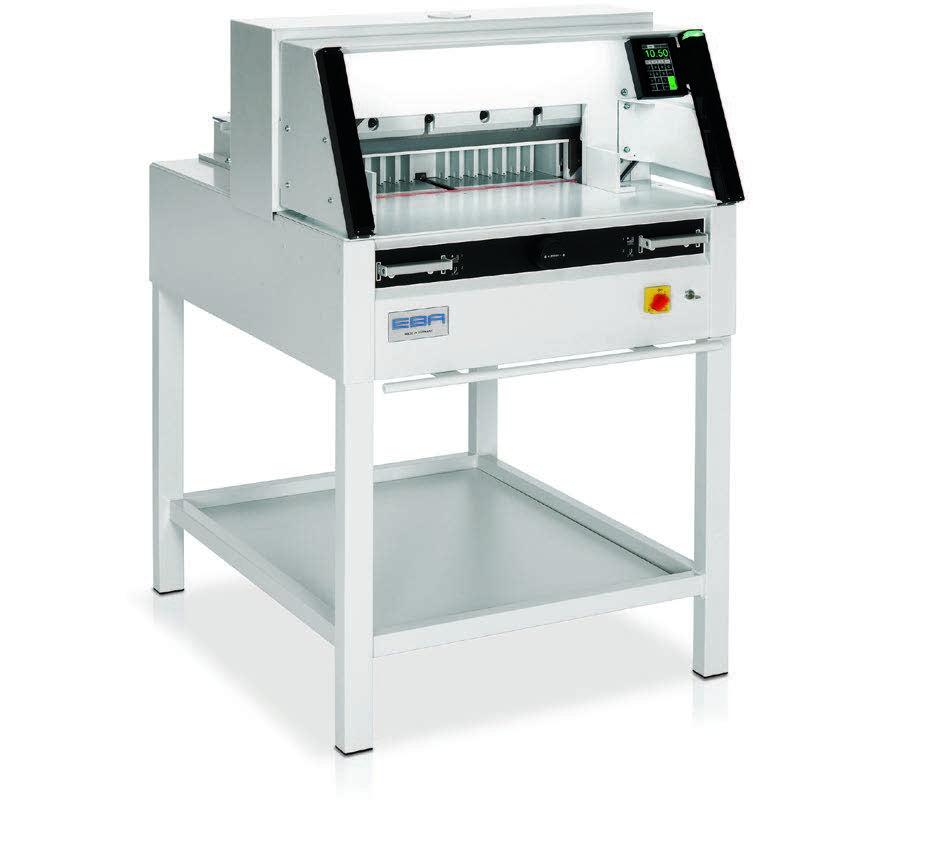 Photo of EBA 5260 Guilotine - Southern Print Finishing Services Ltd