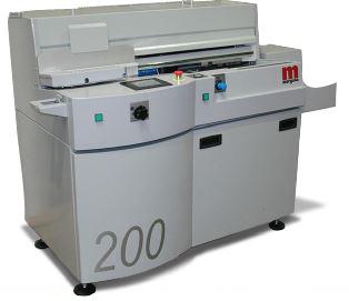 Photo of a digibook 200 pur binder