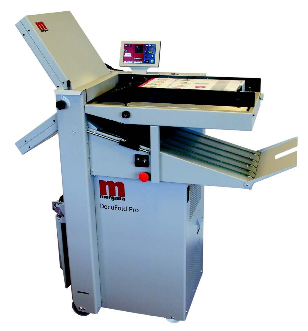 Picture of a Morgana Docufold Pro paper folder - SPFS