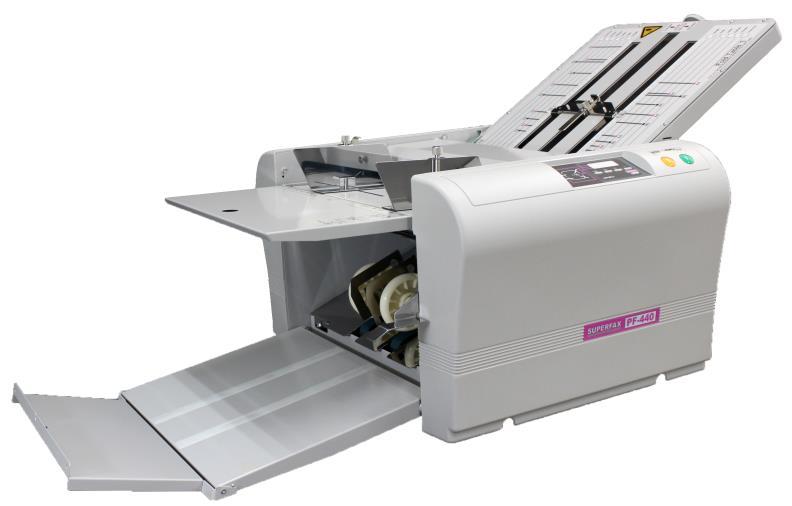 Picture of a Superfax PF440 paper folder -SPFS